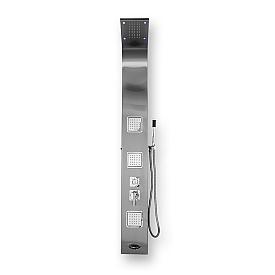 Душевая панель BYON V0000067 1650х200 нержавеющая сталь