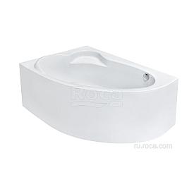 Акриловая ванна Roca Luna ZRU9302911 асимметричная левая белая 170x115
