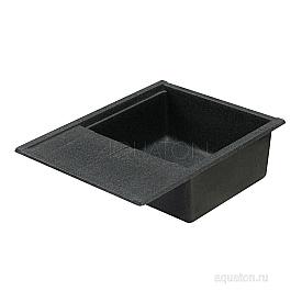 Мойка для кухни Делия 65 графит Aquaton 1A718632DE210