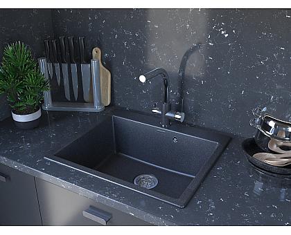 Мойка для кухни кварцевая Paulmark Kante PM106052-BE