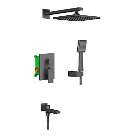 Душевая система встроенная Timo Selene SX-3069/03SM черный