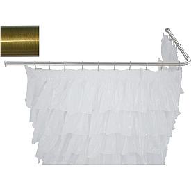 Карниз для ванны угловой Г-образный Aquanet 140x70  241637