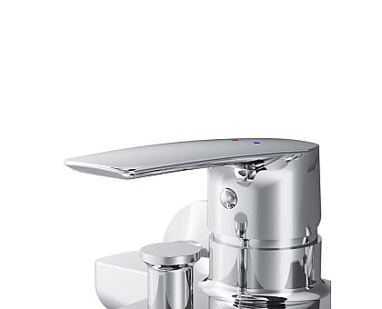 F90A10000 Gem смеситель для ванны душа хром.