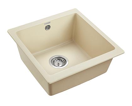 Мойка для кухни кварцевая Paulmark Brilon PM104546-CH