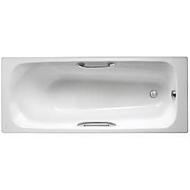 Ванна Jacob Delafon 160 х 70 см с отверстиями для ручек E2935-00
