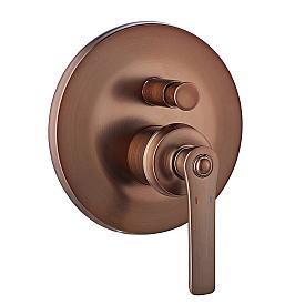 Смеситель 2 функциональный встроенный Swedbe Terracotta ART 2517 для ванной