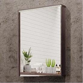 Зеркальный шкаф Стоун 60 грецкий орех Aquaton 1A231502SXC80