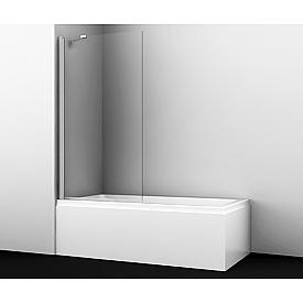 48P01-80 Fixed Стеклянная шторка на ванну WasserKRAFT