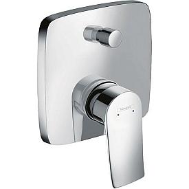 Смеситель для ванной встраиваемый Hansgrohe Metris 31454000