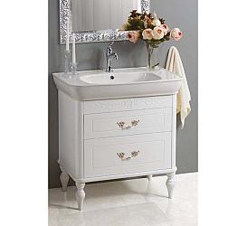База под раковину BelBagno PRADO-800-2C-PIA1-BL Мебель для ванной