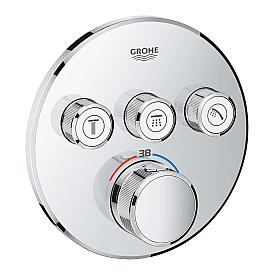 Термостат Grohe  для ванны/душа 3 кнопки управления 29121000