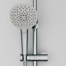 F0770A400 Spirit V2.0 душ.система набор: смеситель для душа с термостатом верхн. душ d 250 мм ручн.