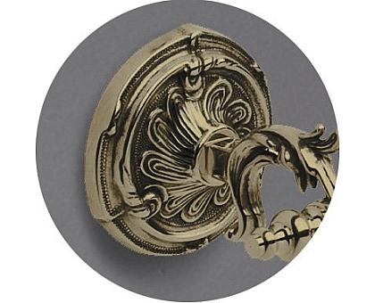 Крючок двойной подвесной ART&MAX AM-1784-Cr