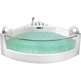Ванна  угловая с подголовником Gemy G9080
