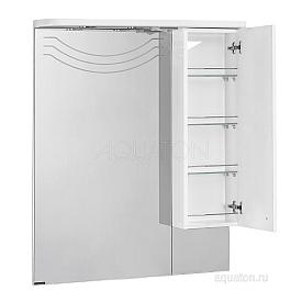 Зеркальный шкаф Домус правый белый Aquaton 1A001002DO01R