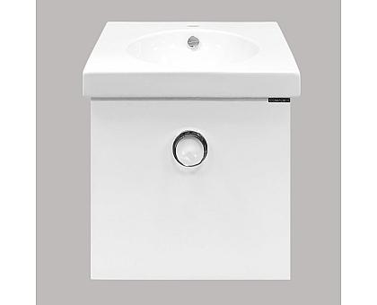 Тумба-умывальник Comforty Магнолия-50 подвесная с раковиной 00003118078