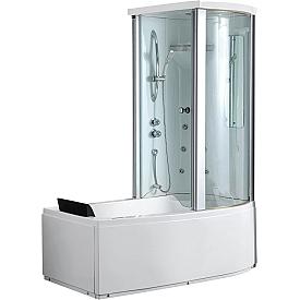 Угловая ванна Gemy  G8040 C R