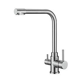 Смеситель для кухни с краном для питьевой воды BelBagno BB-LAM15-IN