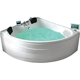 Ванна угловая с подголовником Gemy 150х150 G9041 O