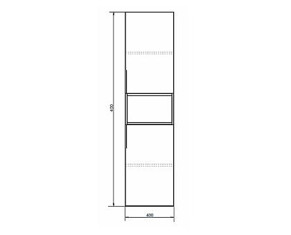 Шкаф-колонна Comforty Штутгарт-40 00004151544