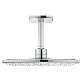 Верхний душ Grohe с потолочным душевым кронштейном 26481LS0 142 мм