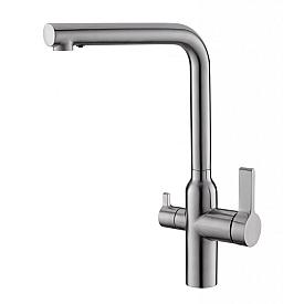 Смеситель для кухни с краном для питьевой воды BelBagno BB-LAM57-IN