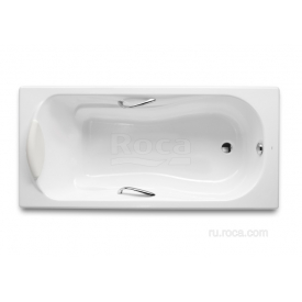 Чугунная ванна Roca Haiti 2331G0000 140x75
